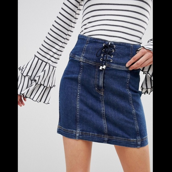 89f98d014d Free People Skirts | Modern Femme Corset Mini Skirt Nwt 4 | Poshmark